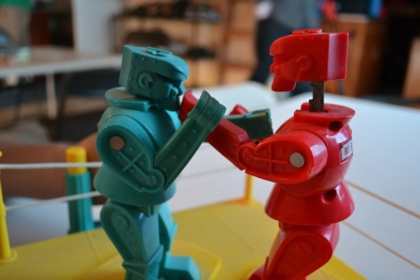 Rock 'Em Sock 'Em Robots (Susan Rachelll - photobucket)