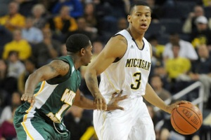 Kansas will have its hands full trying to stop Trey Burke. (JonathanTjark - photobucket)
