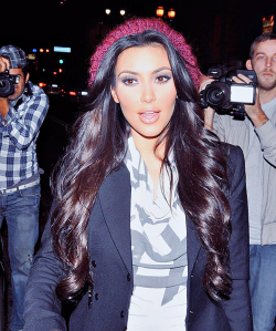 Hopefully Kim Kardashian doesn't read her reviews. Who am I kidding? Of course she does. (celebpic - photobucket)