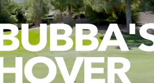 Bubba Watson has a hovercraft? Of course, he does.