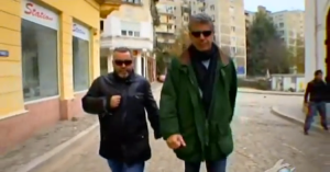 Bourdain and his partner in crime, Zamir Gotta.