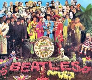 """Sgt. Pepper's Lonely Hearts Club Band"" album cover (media.photobucket.com)"