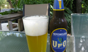 Harpoon Brewery's UFO Hefeweizen