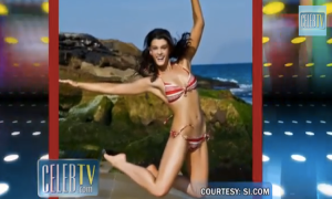 Crystal Renn (screenshot taken from http://youtu.be/oXuwi0X-OyQ)