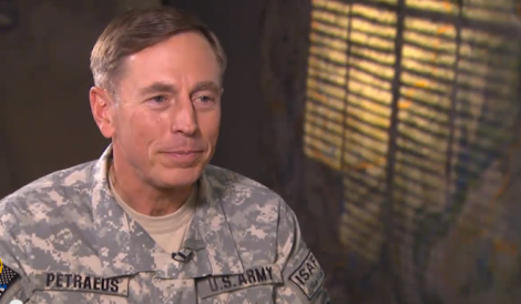 We'd adjunct permanently too if we could make David Petraeus money. (Screen shot from http://youtu.be/5_6TkSUNYTo)