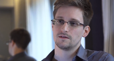 Edward Snowden (Screen shot from http://youtu.be/Q_qdnyEqCPk)