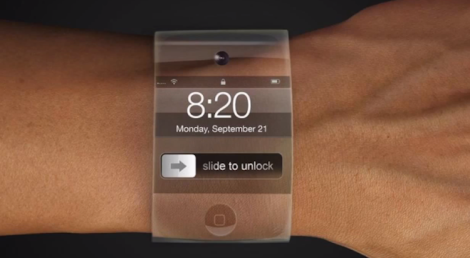 Is this what the new Apple watch will look like? (Screen shot form http://youtu.be/1xKTv1oF5Q0)
