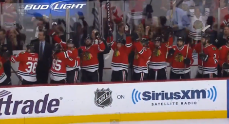 Wouldn't it be great to see the Hawks take on Dynamo Moscow? (Screen shot from http://youtu.be/0lDUH_KybKA)