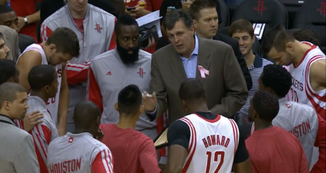 The Houston Rockets will be the league's most interesting team this season. (Screen shot from http://youtu.be/2cUsttMCqa0)