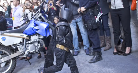 Batkid (Screen shot from http://youtu.be/Dp1cCd-H3P4)