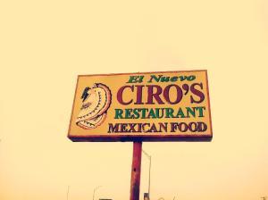 Ciro's Mexican restaurant  in El Paso