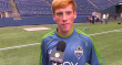Xander Bailey of the Seattle Sounders