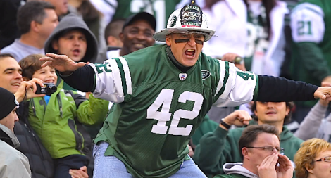 New York Jets superfan Fireman Ed