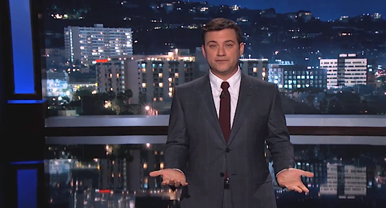 Jimmy Kimmel tests the new iPhone
