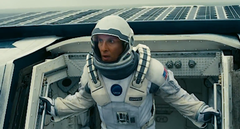 Matthew McConaughey in space
