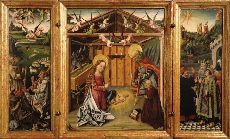 Garcia del Barco, Triptych of the Nativity. Image taken from http://upload.wikimedia.org/wikipedia/commons/3/34/Garc%C3%ADa_del_Barco_-_Triptych_of_the_Nativity_-_Google_Art_Project.jpg