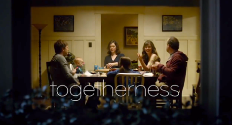 "HBO's ""Togetherness"" (Screen shot from http://youtu.be/IBt3XoWxvOo)"