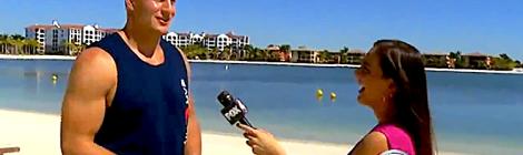 Rob Gronkowski in Florida