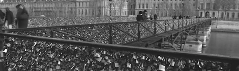 The lock bridge in Paris