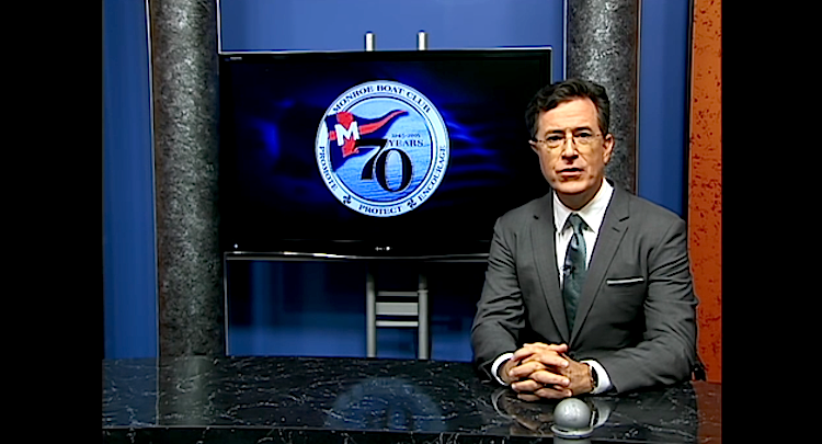 "Stephen Colbert hosts ""Only in Monroe"""